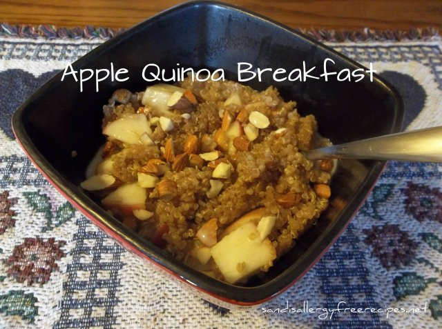 Apple Quinoa Breakfast