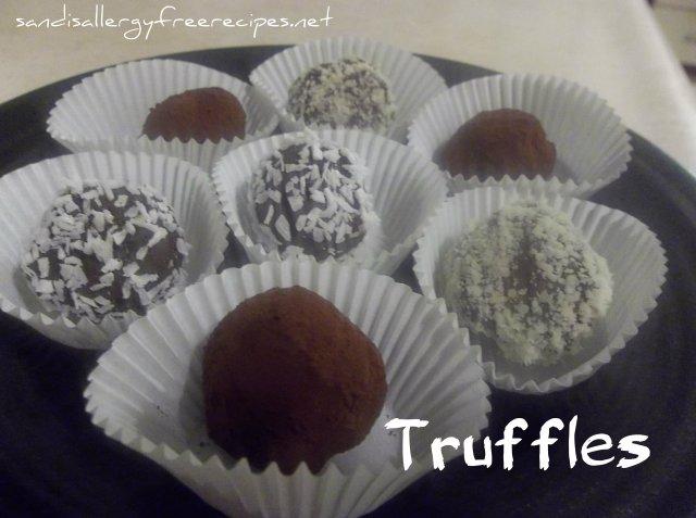 Coconut Milk Truffles