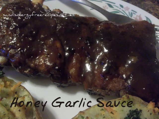 Honey Garlic Sauce