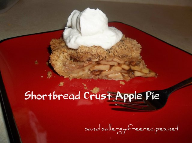 Shortbread Crust Apple Pie