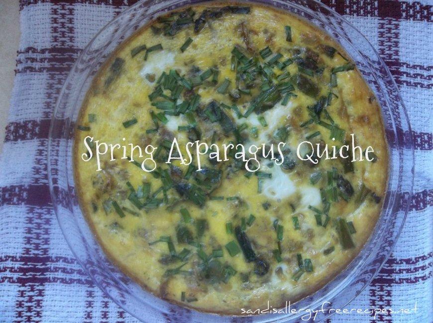 Spring Asparagus Quiche
