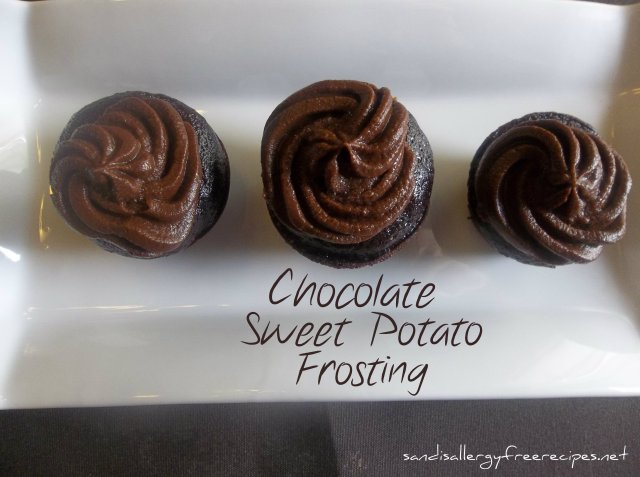 Chocolate Sweet Potato Frosting (Dairy Free/ Refined Sugar Free)